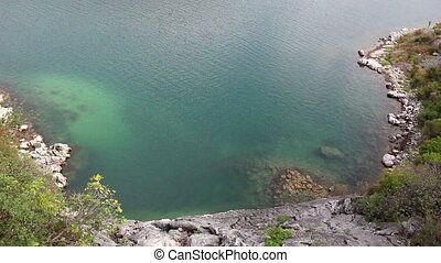 Green blue lagoon