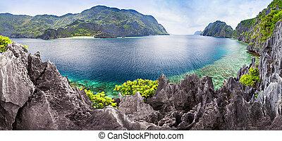 Lagoon - Very beautyful lagoon in the islands, Philippines