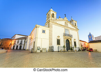 Lagos city center, Algarve, Portugal