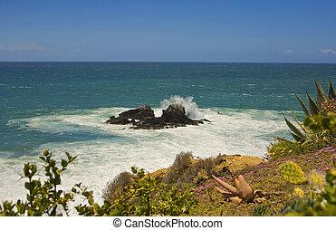 Laguna Beach Rock Splash