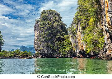 Laguna in the Andaman Sea