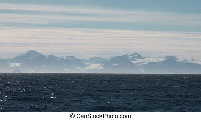 Laguna of Arctic Ocean.