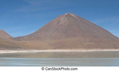 Laguna Verde time lapse - Laguna Verde , Altiplano, Potosi...