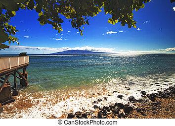 lahania, praia