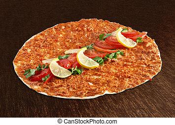 Lahmacun - Turkish pizza