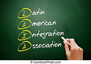 laia, amerikai, integráció, -, latin, egyesülés