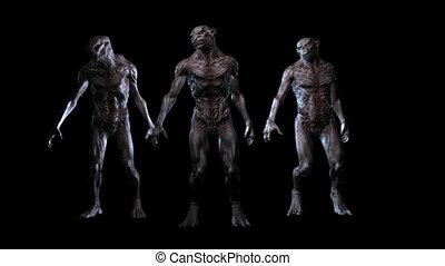 laid, animation, créatures, 3d, numérique