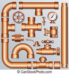laiton, pipeline