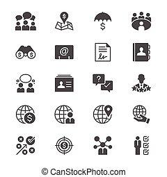 lakás, ügy icons