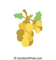 lakás, szőlő, karácsony, ikon