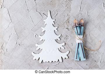 lakberendezési tárgyak, modern, karácsony