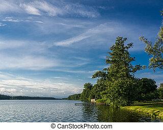 lake., 木