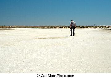 lake., 盐