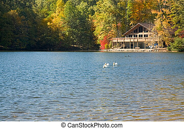 Lake Allen - A lodge on the lake in Allen Park Ohio. Located...