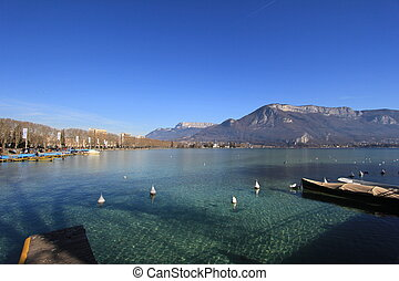 lake Annecy - Lake Annecy, France