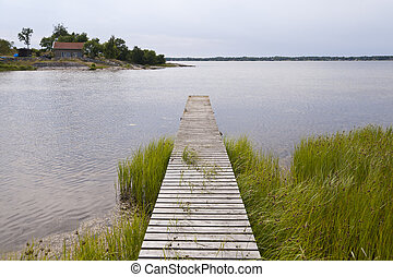 Lake Asnen in Sweden - Lake Asnen in southern Sweden