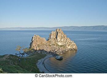 Olkhon Island, Cape Burkhan (Rock S