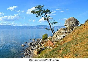 Lake Baikal, Olkhon Island, Russia