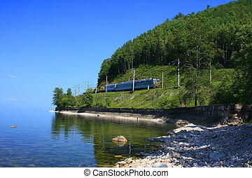 Lake Baikal, Russia.