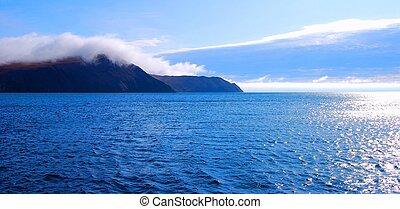 Lake Baikal. Storm.