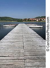 Lake Balaton in Tihany