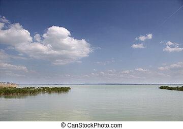 Lake Balaton near Szigliget