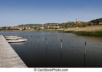 Lake Balaton near Tihany