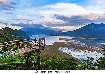 Lake Buyan - Bali Island Indonesia - Lake Buyan in Bali ...