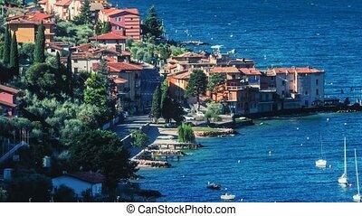 Lake Como. Italy. Timelaplse.