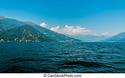 Lake Como, Italy , view on Menaggio