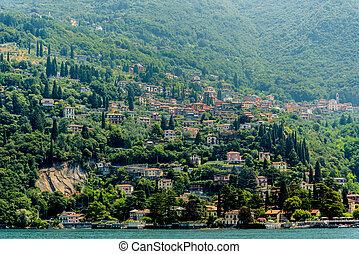 Lake Como, Italy , view on Varenna