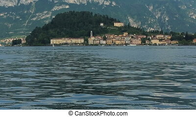 Lake Como, Italy.  Wonderful landscape with ancient architecture