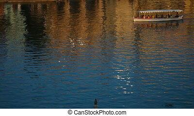 Lake cruiser - Lake criuser taking a tour on one of the...