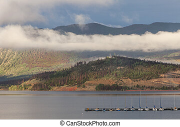 Lake Dillon in Colorado