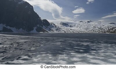 Lake Djupvatnet, Norway - Native Material, straight out of...