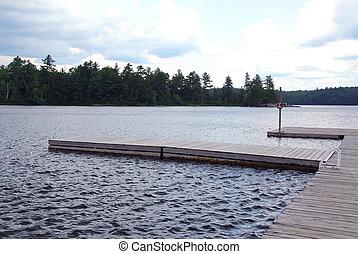 Lake docks