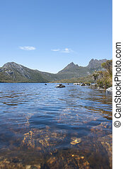 Lake Dove at Cradle Mountain Tasmania