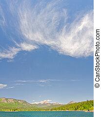 Lake Electra in the San Juan Mountains in Colorado