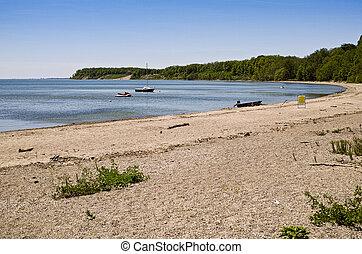 Lake Erie beach - at Port Ryerse, Ontario