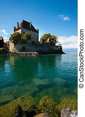 Lake Geneva Waterfront Castle