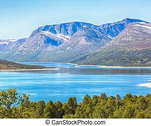Lake Gjevillvatnet, Norway