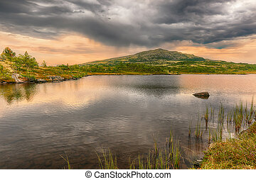 Lake Groenntjoenna, Norway