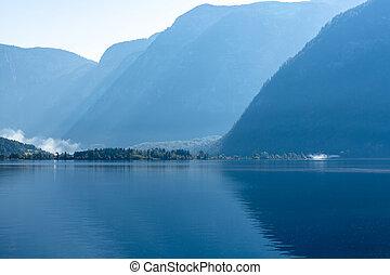 Lake Hallstatt in the Morning