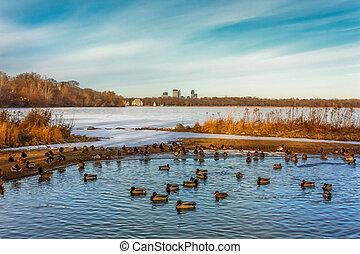 Lake Harriet in Minneapolis Minnesota - Lake Harriet in...