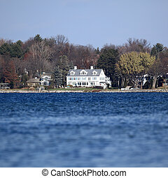 Lake House - Small lake house.