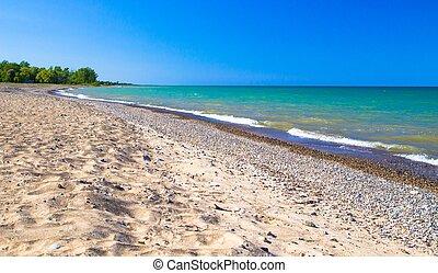 Lake Huron Coast - Gorgeous Lake Huron coast stretches to...