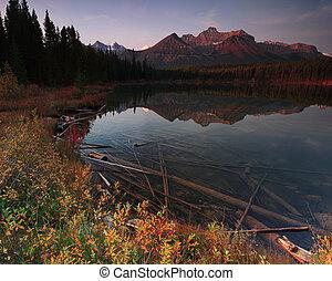 Lake in Alberta Canada