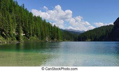 Lake in Alps