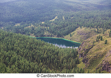 Lake in Altai mountains - Beautiful lake in Altai mountains...