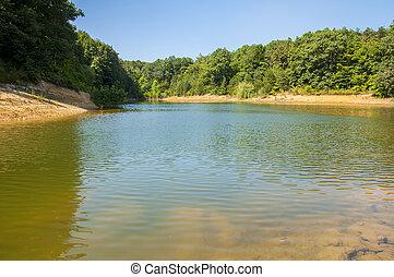 Lake in Arboretum